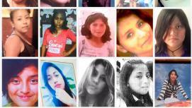 Varias de las niñas asesinadas