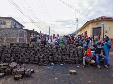BarricadasNicaragua