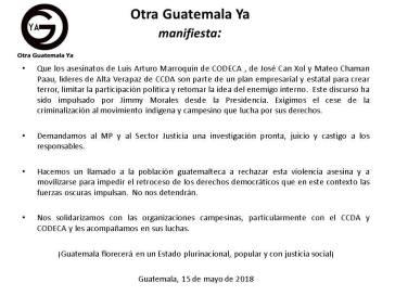 OtraGuatemalaYarepresión